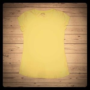 Justice basic stretchy soft tee